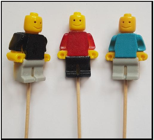 Lizak CandyWay Ludzik Lego